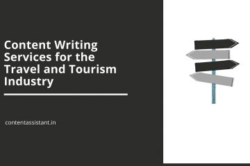 content writing services for travel and tourism industry
