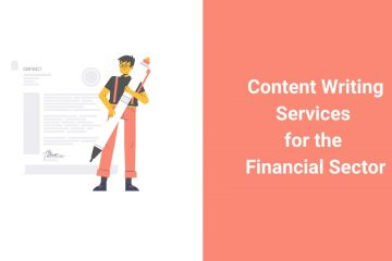 content writing for financial sector