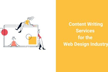content writing services for web design industry